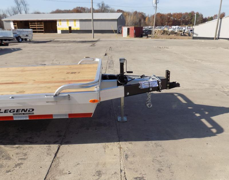 New Legend 7' x 24' Aluminum Equipment Trailer With Nearly 12K Payload Capacity - $0 Down & Payments from $137/mo. W.A.C.