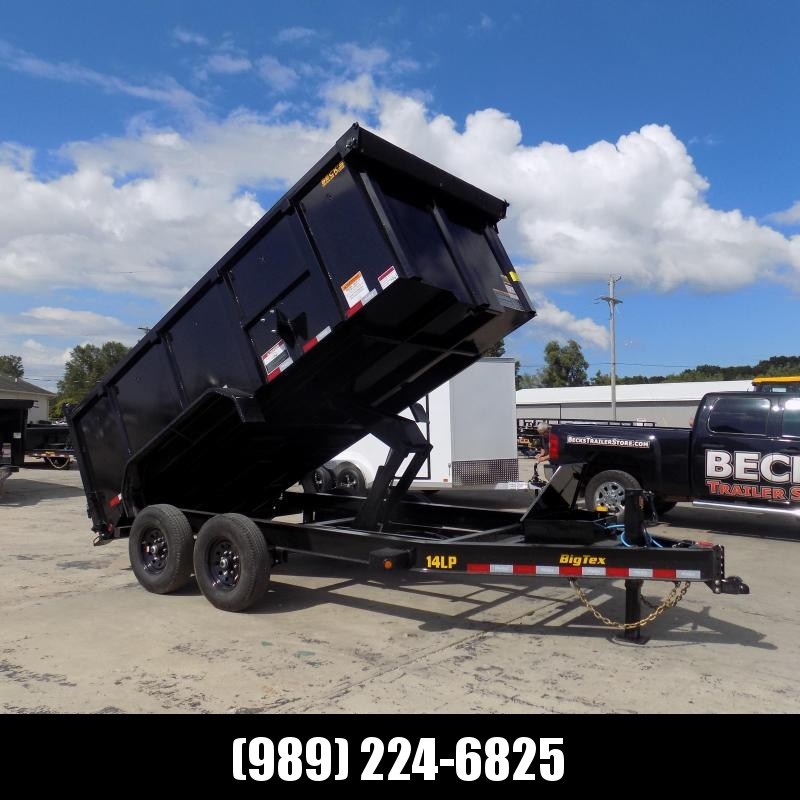"""New Big Tex 83"""" x 14' Low Profile Dump Trailer - 48"""" Sides- $0 Down With Flexible Financing Available"""