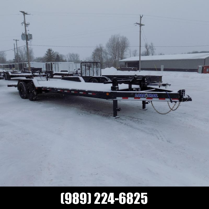 "New Load Trail 7"" x 24' Tilt-N-Go Tilt Deck Equipment Trailer For Sale - $0 Down & Payments From $121/mo. W.A.C."