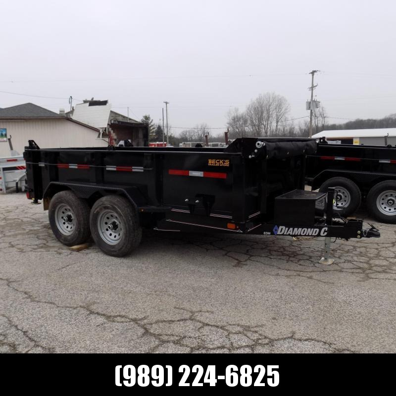 New Diamond C Trailers 6.5' x 12' Dump Trailer For Sale - $0 Down Financing Available - Low Rates