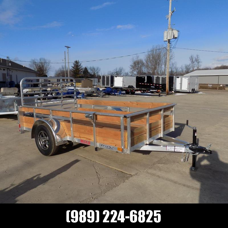 New Legend 6' x 10' Aluminum High Side Utility Trailer For Sale - $0 Down & Payments From $65/mo. W.A.C.