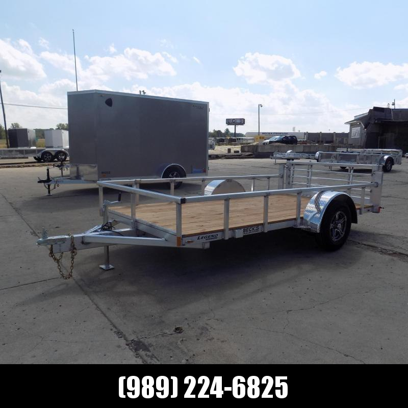New Legend Open Deluxe 6' x 12' Aluminum Utility - $0 Down & Payments From $89/mo. W.A.C.