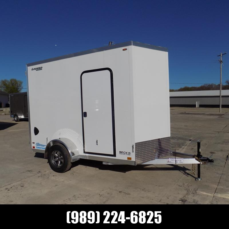 New Legend Thunder 6' x 11' Aluminum Enclosed Cargo Trailer for Sale- $0 Down Payments From $105/Mo W.A.C.