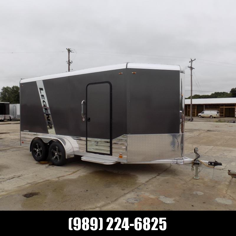 New Legend Deluxe 7' x 17' Enclosed Cargo Trailer For Sale - $0 Down Financing Available