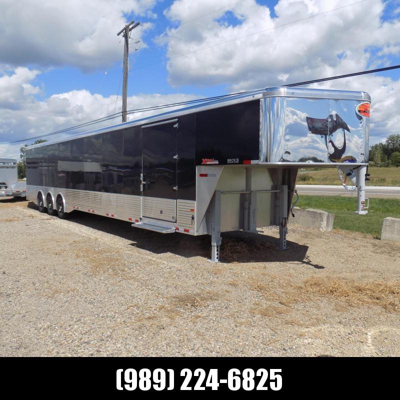 "New Sundowner Trailers XTRA Series Transporter 102"" x 40' Aluminum Gooseneck Enclosed/Car Hauler  Trailer - Must See - Financing Available"
