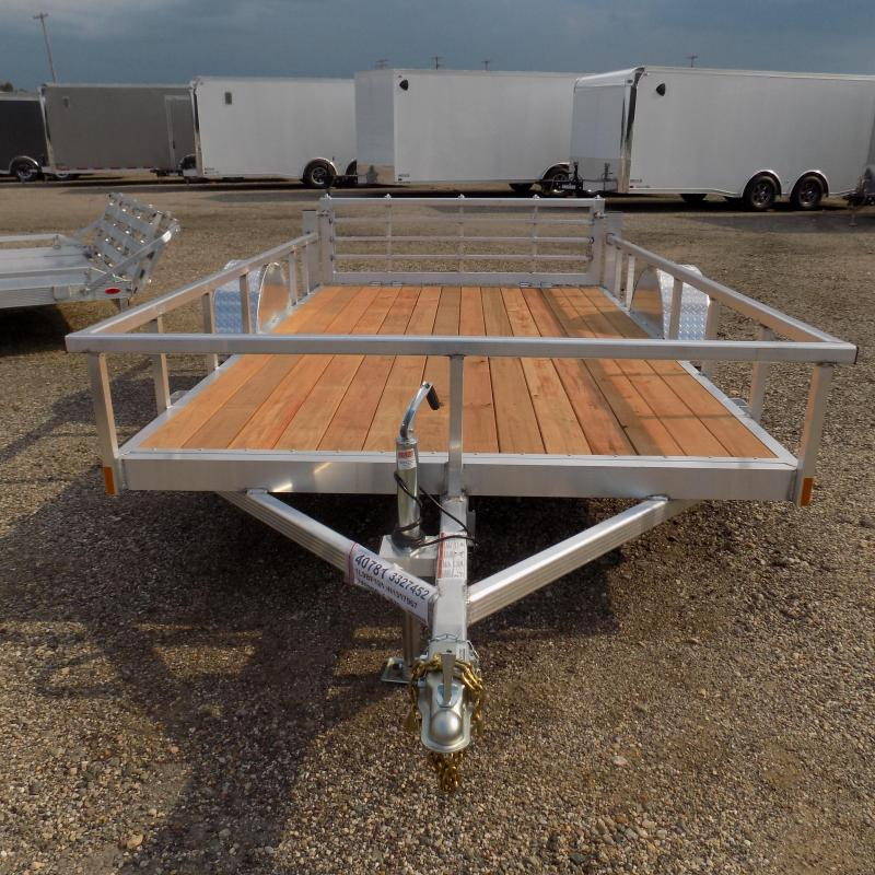 New Legend Open Deluxe 7' x 12' Aluminum Utility - $0 Down & Payments From $91/mo. W.A.C.