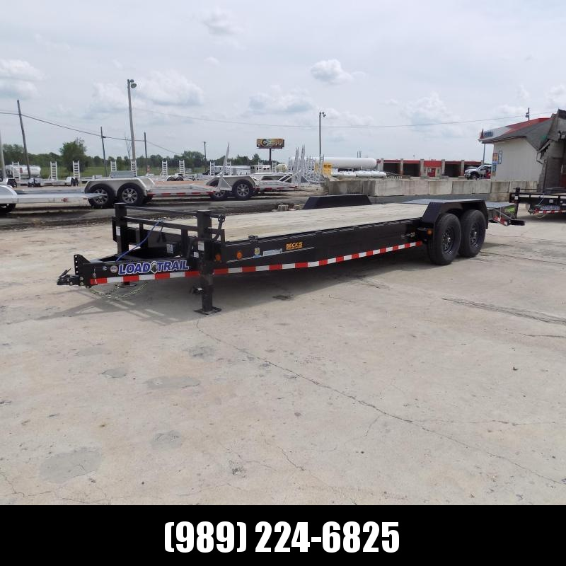 """New Load Trail 83"""" x 24' Equipment Trailer For Sale - $0 Down & Payments From $113/mo. W.A.C."""