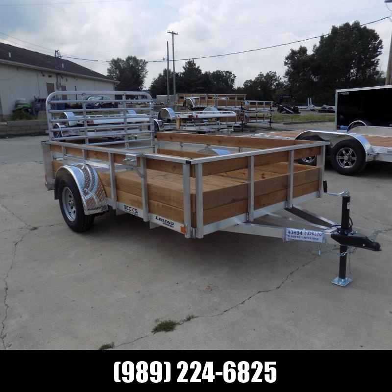 New Legend 6' x 10' Aluminum Utility Trailer For Sale - $0 Down & Payments From $79/mo. W.A.C.