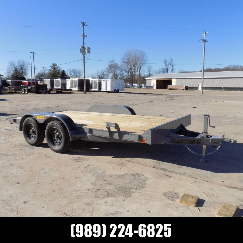 New Diamond C Trailers 7' x 14' Open Car Hauler - $0 Down & Payments From $85/mo. W.A.C.