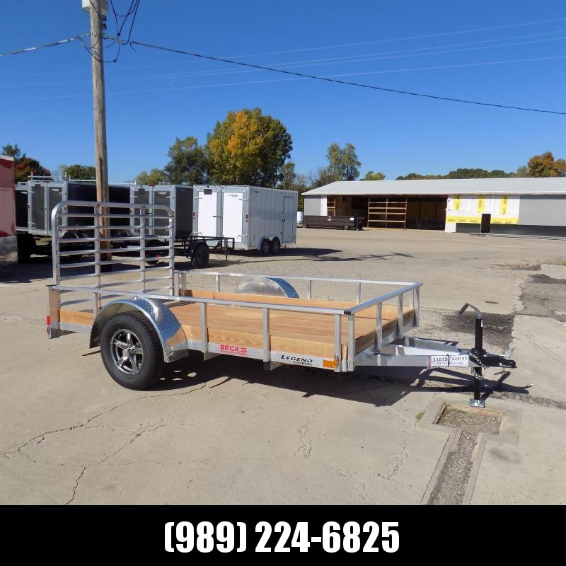 New Legend 6' x 10' Aluminum Utility Trailer For Sale - $0 Down & Payments From $60/mo. W.A.C.