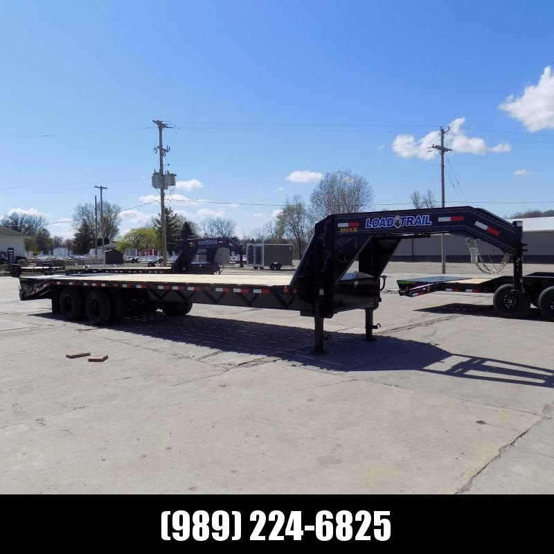 "New Load Trail 102"" x 30' Gooseneck Equipment Trailer With 10K Axles - Flexible $0 Down Financing Available"