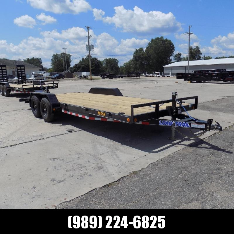 """New Load Trailer 83"""" x 20' Open Car Hauler/Equipment Trailer - $0 Down & Payments from $103/mo. W.A.C."""