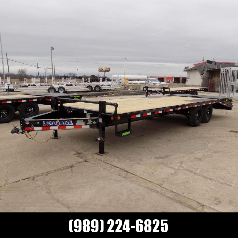 """New Load Trail 102"""" x 24' Deckover Trailer For Sale- $0 Down Payments From $142/mo W.A.C."""
