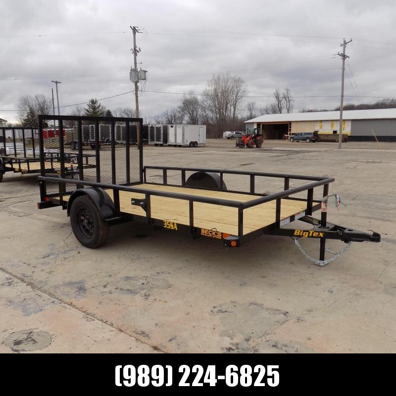 New Big Tex 7' x 12' Utility Trailer For Sale - $0 Down & Payments From $55/mo. W.A.C.
