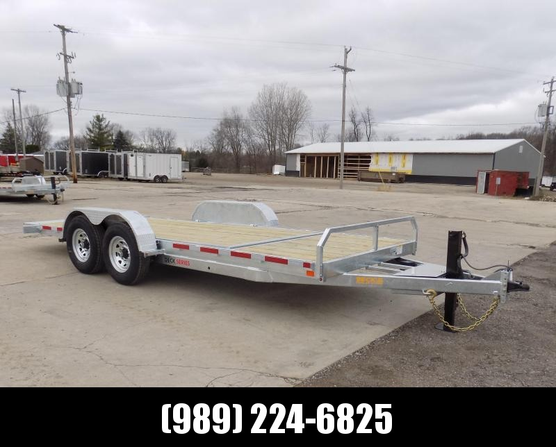 New Galvanized 7' x 20' Tilt Deck Equipment Trailer - $0 Down & Payments from $109/mo. W.A.C. - CORROSION RESISTANT!