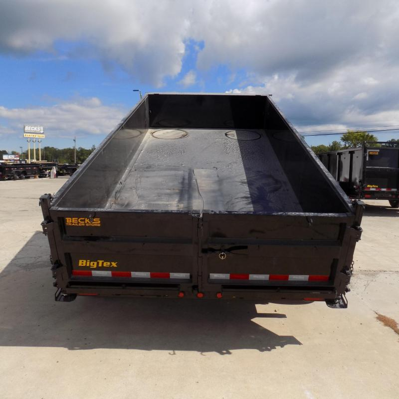 """New Big Tex 83"""" x 14' Low Profile Dump Trailer - $0 Down & Payments From $159/mo. W.A.C."""