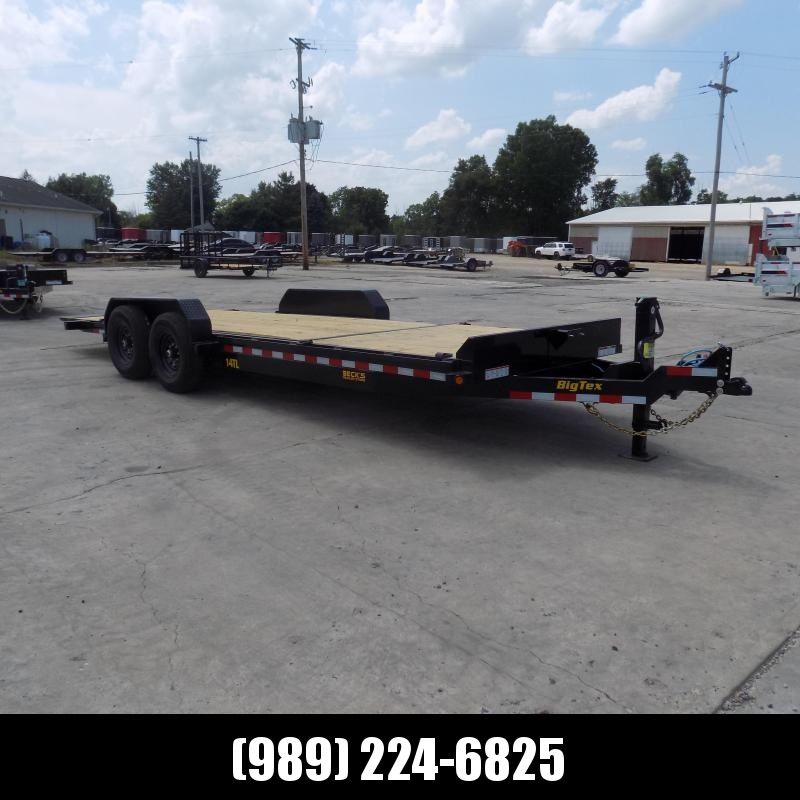 """New Big Tex 83"""" x 22' Tilt Deck Equipment Trailer For Sale - $0 Down & Payments From $119/mo. W.A.C."""