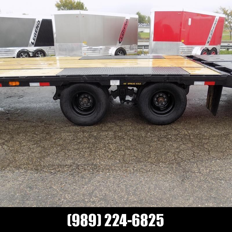 "New Big Tex 102"" x 25' + 5' Gooseneck Trailer w/ 23900# Weight Rating - $0 Down Financing Available"