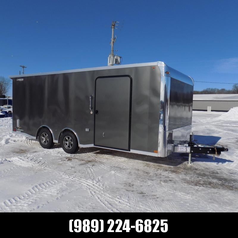New Legend Trailmaster 8.5' x 20' Aluminum Race Series Trailer - Flexible $0 Down Financing Options Available