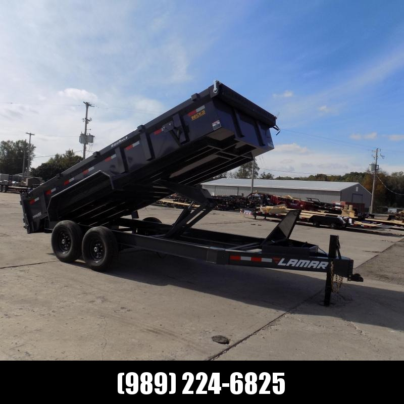 """New Lumar 83"""" x 16' Low Pro Dump Trailer for Sale - $0 Down & Flexible Financing Available"""