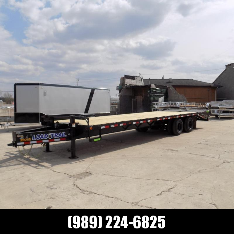 """New Load Trail 102"""" x 30' Pintle Hitch Equipment Trailer With 10K Axles - Flexible $0 Down Financing Available"""