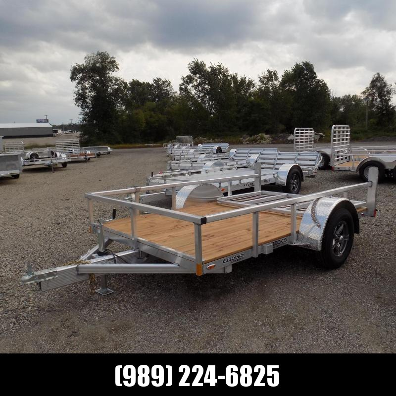New Legend Open Deluxe 6' x 10' Aluminum Utility - $0 Down & Payments From $79/mo. W.A.C.