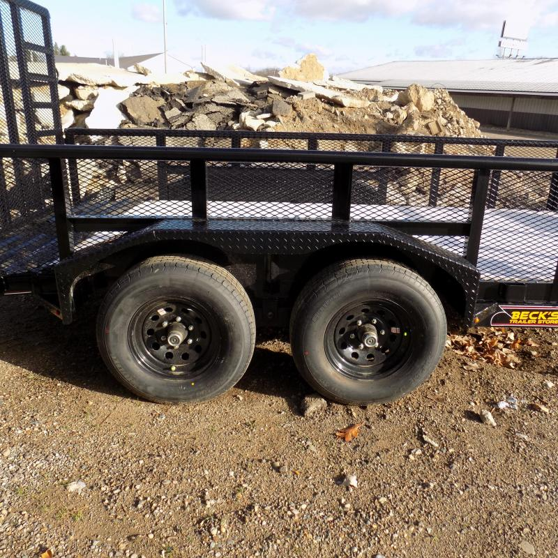 "New Diamond C Trailers 7' x 14' Heavy Duty ""Texas"" Utility Trailer - 5200# Axles & Over 8000# Payload Capacity - $0 Down Financing Available"