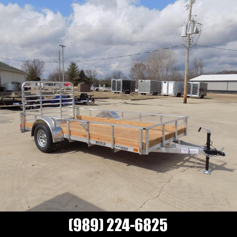 New Legend 6' x 12' Aluminum Utility Trailer For Sale - $0 Down & Payments From $67/mo. W.A.C.