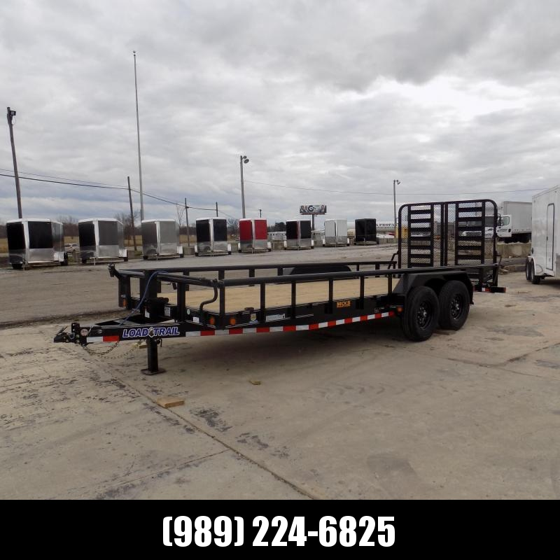 New Load Trail 7' x 20' Open Car / Equipment Trailer With 7K Axles - $0 Down Financing Available