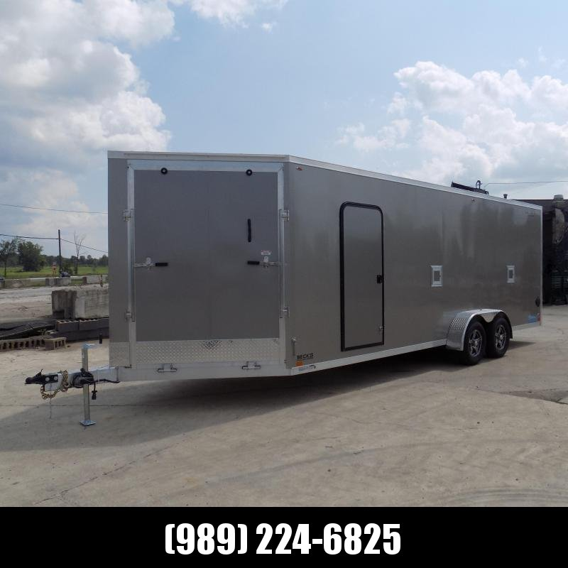 New Legend Thunder 7' x 27' Snowmobile Trailer - $0 Down & Payments From $179/mo. W.A.C