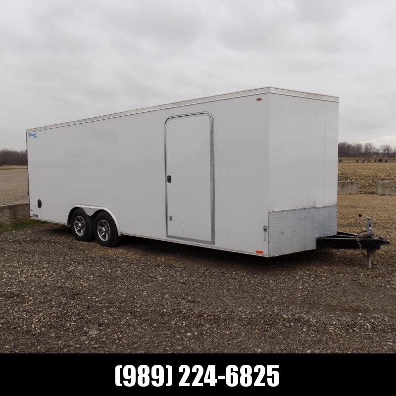 Used Legend Cyclone 8.5' x 23' Car Trailer For Sale - Call For More Information