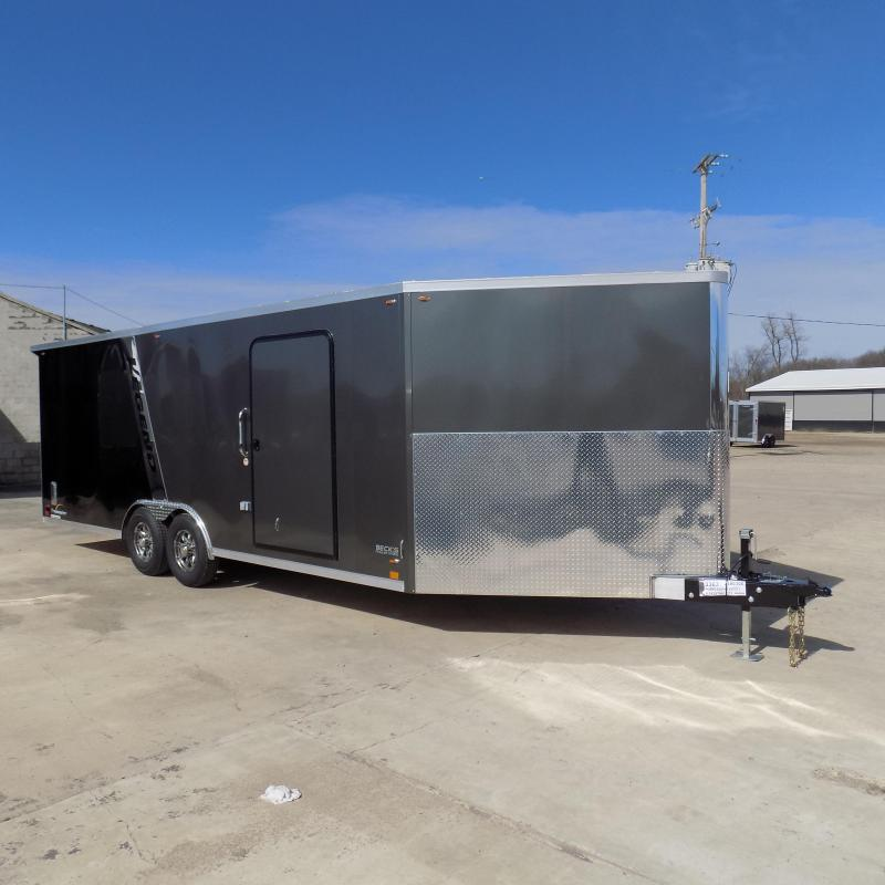 New Legend Trailmaster 8.5' x 28' Aluminum Enclosed Trailer - Perfect For UTVs-Snowmobile-Motorcycles & More - LOADED! $0 Down Financing Available