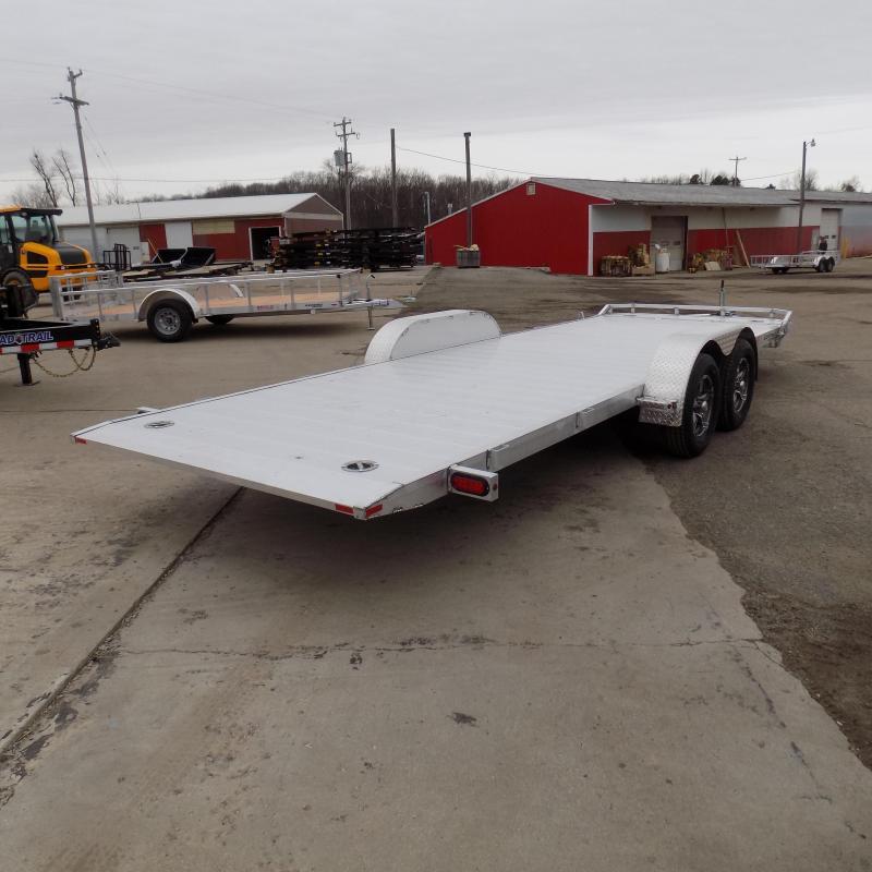 New Legend 7' x 22' Aluminum Tilt Deck Car Hauler - $0 Down & Payments From $133/mo. W.A.C.