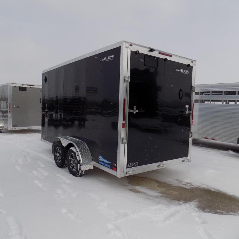 New Legend Thunder 7' X 16' All Aluminum Enclosed Cargo Trailer For Sale