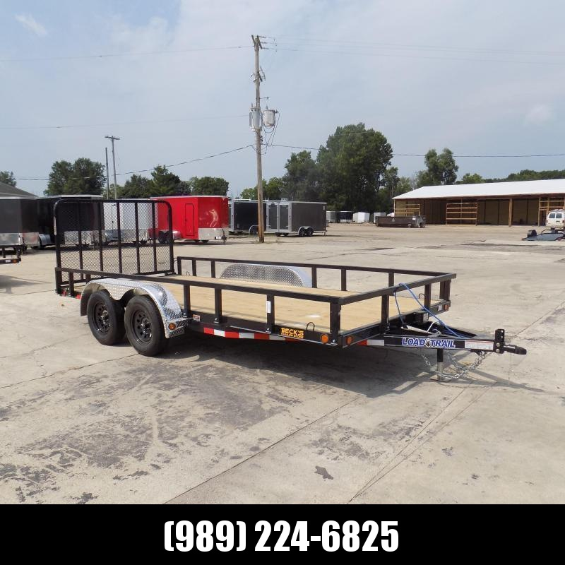 "New Load Trail 83"" x 16' Utility Trailer For Sale - $0 Down & Payments From $83/mo W.A.C."