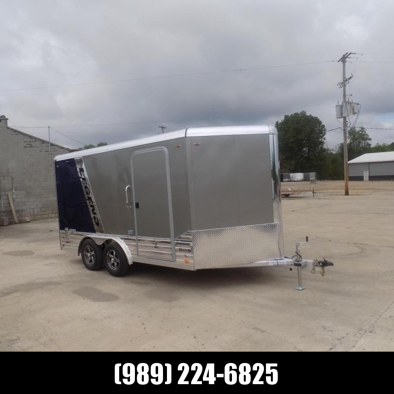 New Legend Deluxe V Nose 8' X 17' All Aluminum Cargo Trailer - $0 Down & Payments from $190/mo. W.A.C.