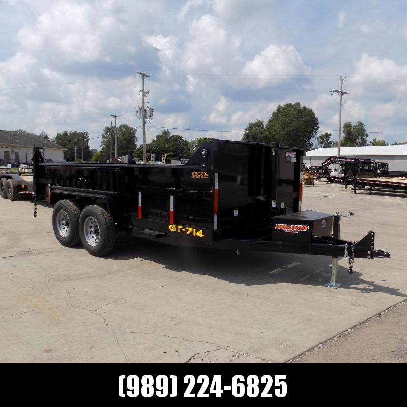 New DuraDump 7' x 14' Dump Trailer For Sale - $0 Down & Payments From $137/mo. W.A.C.