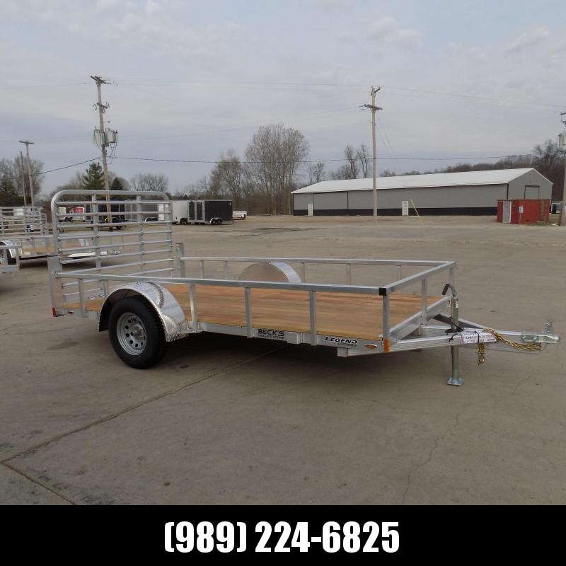 New Legend Open Deluxe 6' x 12' Aluminum Utility - $0 Down & Payments From $71/mo. W.A.C.