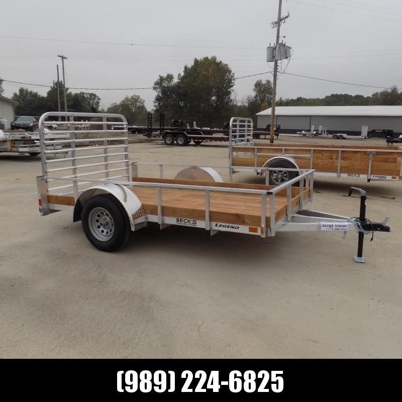 New Legend 6' x 10' Aluminum Utility Trailer For Sale - $0 Down & Payments From $73/mo. W.A.C.