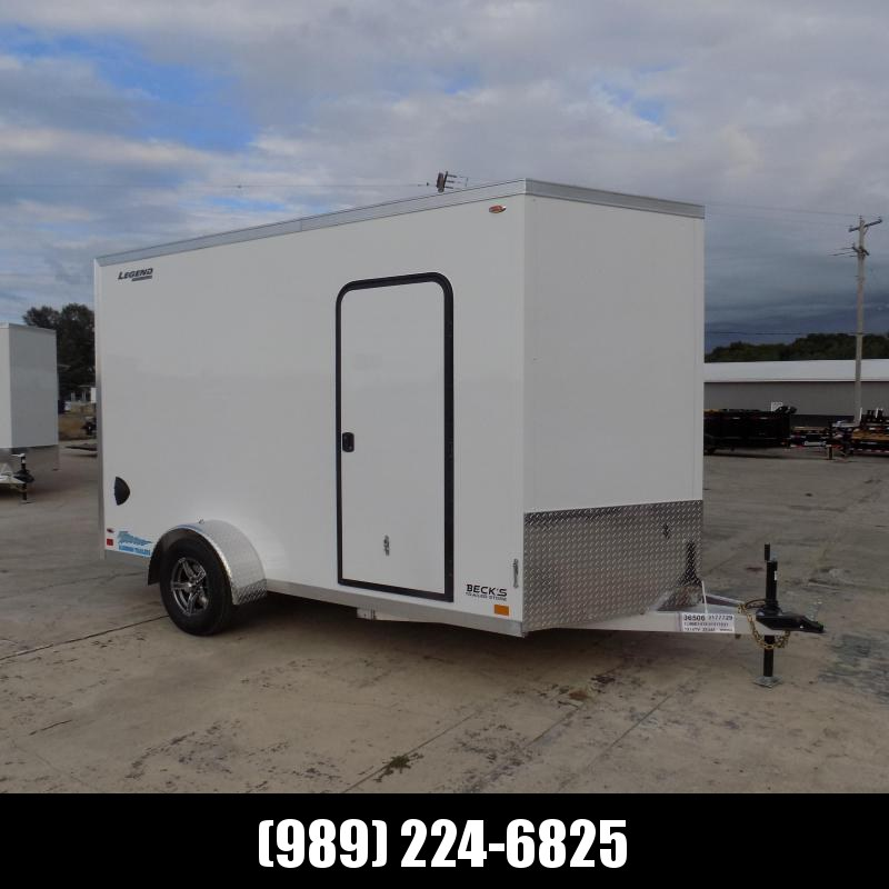 New Legend Thunder 7' x 14' Aluminum Enclosed Cargo Trailer for Sale- $0 Down & Payments From $127/mo. W.A.C.