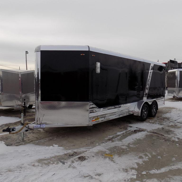 New Legend Deluxe V-Nose 7' x 21' Aluminum Enclosed Cargo Trailer For Sale