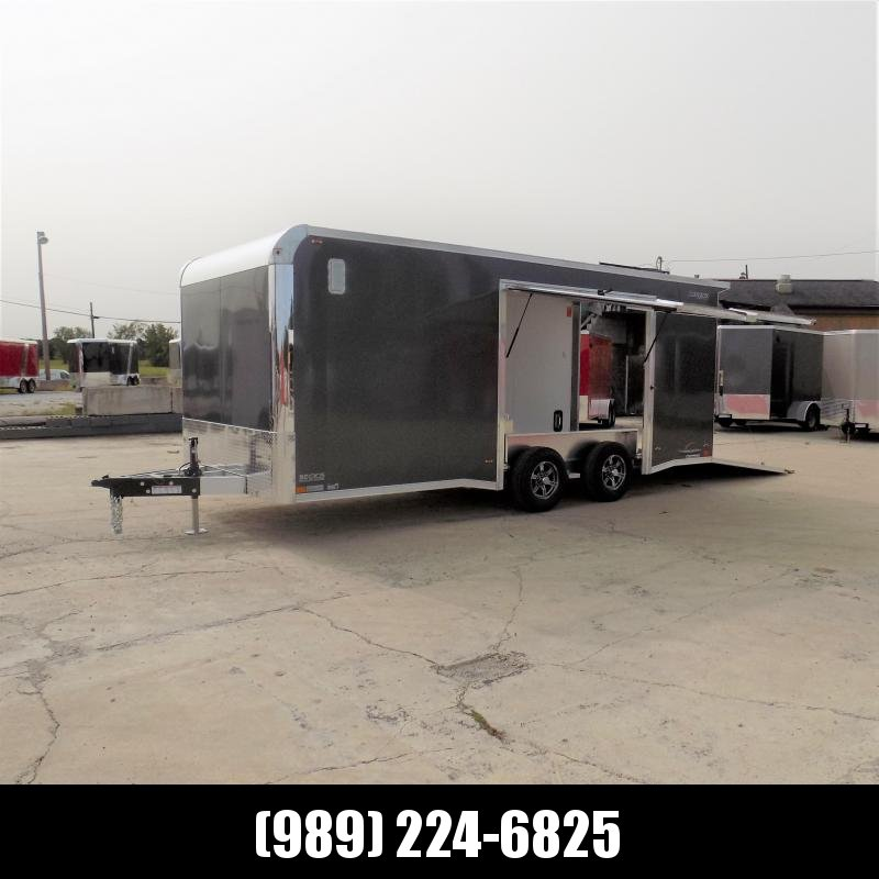 New Legend Trailmaster 8.5' x 20' Aluminum Race Series Trailer w/ Escape Door & Removable Fender - $0 Down Financing Available