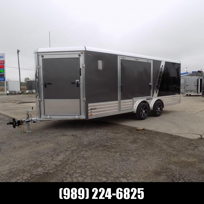 New Legend Deluxe V-Nose Snow/ATV 8' x 24' Snowmobile Trailer - $0 Down With Flexible Financing Options Available
