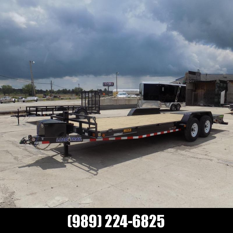"""New Load Trailer 83"""" x 22' Car Hauler Trailer For Sale With 7K Axles- $0 Down & Payments from $121/mo. W.A.C."""