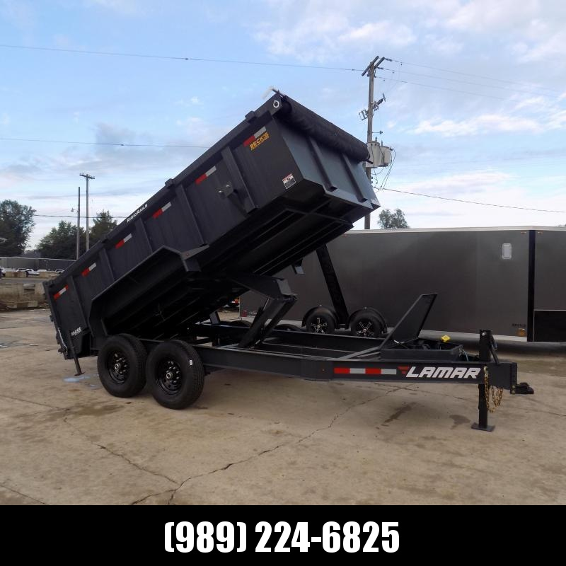 """New Lumar 83"""" x 14' Low Pro Dump Trailer for Sale - $0 Down & Flexible Financing Available"""