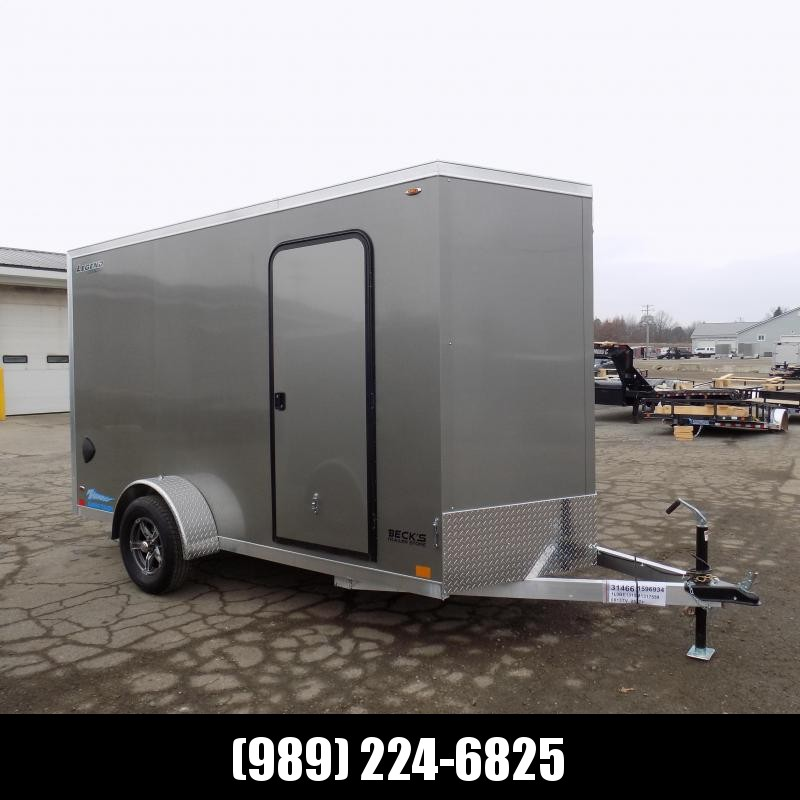 New Legend Thunder 6' x 13' Aluminum Enclosed Cargo Trailer for Sale- $0 Down Payments From $107/Mo W.A.C.