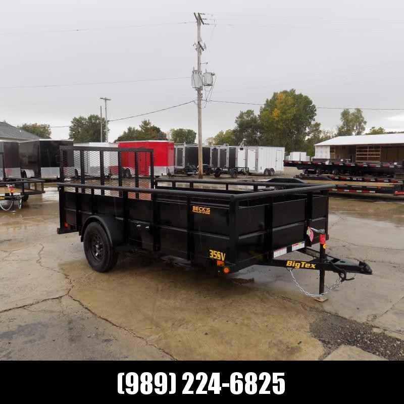 New Big Tex 6.5' x 12' High Side Utility Trailer For Sale - $0 Down & Payments From $59/mo. W.A.C.