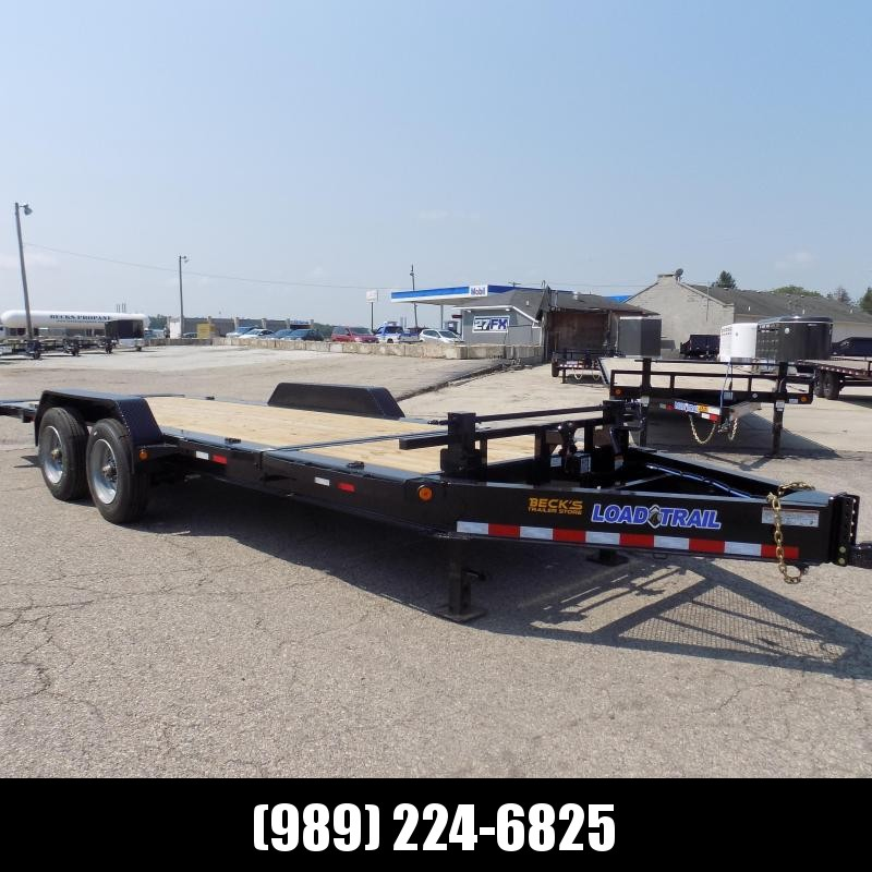 """New Load Trail 83"""" x 20' Tilt Bed Equipment Trailer W/10K Axles - $0 Down & Financing Options Available"""