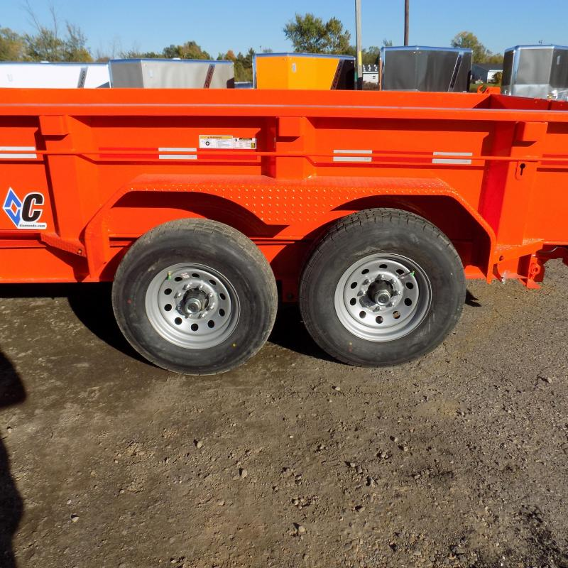 """New Diamond C 82"""" x 14' Low Profile Dump Trailer - $0 Down & payments From $139/mo. W.A.C."""