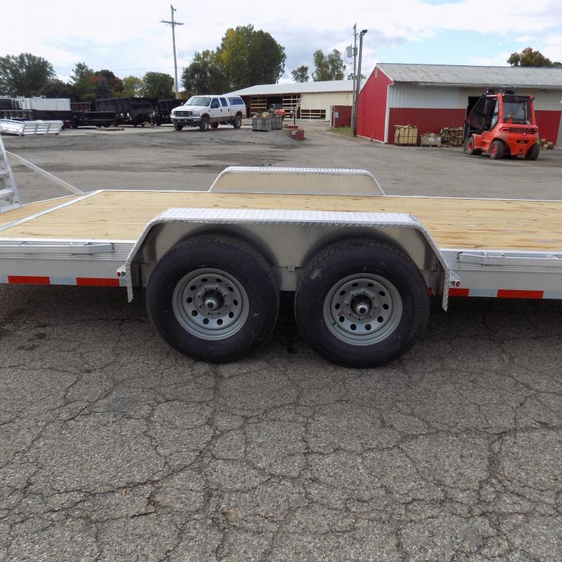 New Legend 7' x 22' Aluminum Equipment Trailer With Nearly 12K Payload Capacity - $0 Down & Payments from $135/mo. W.A.C.